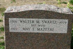 May E. <I>Mazeski</I> Swartz