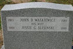 Jessie G. <I>Slesinski</I> Waskiewicz