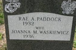 Rae A. Paddock