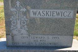 Helen S. <I>Sadlowski</I> Waskiewicz