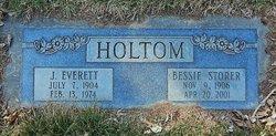 Bessie <I>Storer</I> Holtom