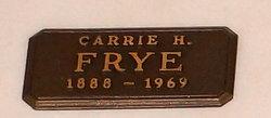 Carrie Hazel Frye