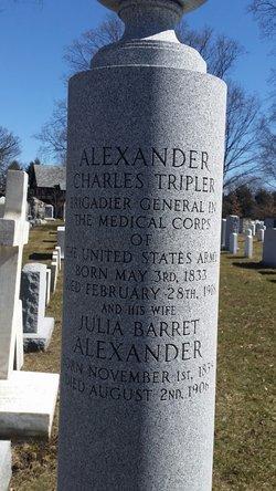 Julia <I>Barret</I> Alexander