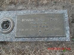 Mrs Bonnie Faye Crew