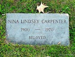 Nina <I>Lindsey</I> Carpenter