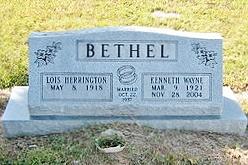 Kenneth Wayne Bethel