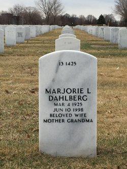 Marjorie L Dahlberg
