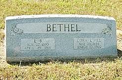 Cora Ethel <I>Burrell</I> Bethel