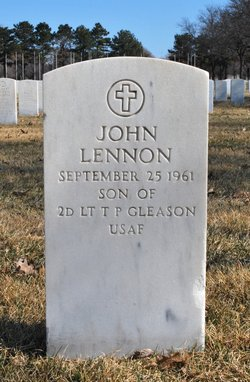 John Lennon Gleason 1961 1961 Find A Grave Memorial