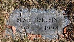 Elsie A. <I>Black</I> Berlein
