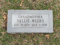 "Garnella ""Nellie"" <I>Adams</I> Weeks"