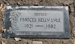 Frances <I>Kelley</I> Lyle