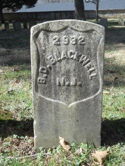 Pvt Benjamin D. Blackwell