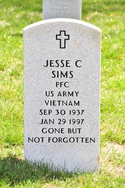 Jesse C Sims
