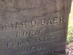 Josiah D Baer