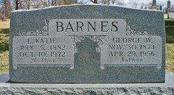 """Louisa Catherine """"Katie"""" <I>Warren</I> Barnes"""