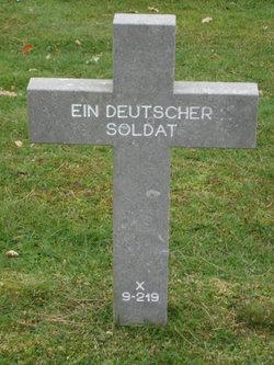 X-9-219 Ein Deutscher Soldat