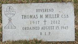 Fr Thomas M. Miller