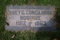 Mary C <I>Concannon</I> Donohue