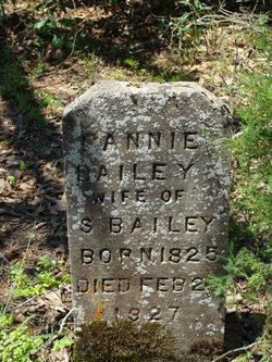 Fannie <I>Elder</I> Bailey