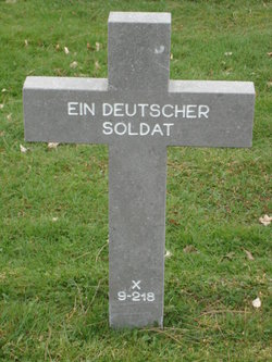 X-9-218 Ein Deutscher Soldat
