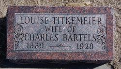 Caroline Louise <I>Titkemeier</I> Bartels