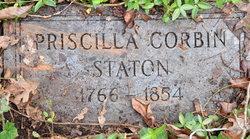 Priscilla <I>Corbin</I> Staton