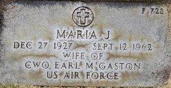 María J. Gastón