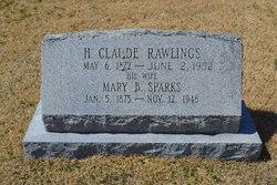 Mary B. <I>Sparks</I> Rawlings