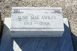 Susie Mae <I>Giddens</I> Ashley
