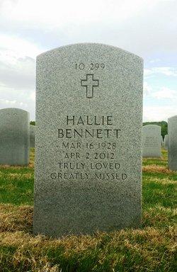 Hallie Marie <I>Brown</I> Bennett
