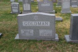 Minnie C <I>Rosengarten</I> Goldman