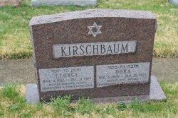 Dora <I>Abrams</I> Kirschbaum