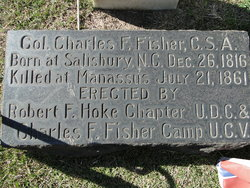 Col Charles Frederick Fisher