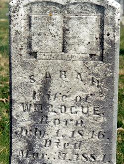 Sarah <I>Bell</I> Logue