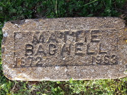 Mattie <I>Sims</I> Bagwell