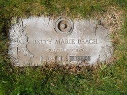 Betty Marie <I>Foltz</I> Beach