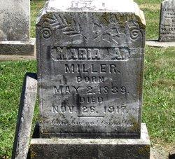 Maria A <I>Baker</I> Miller