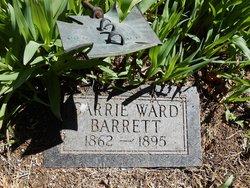 Carrie Belle <I>Barrett</I> Ward