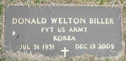 Pvt Donald Welton Biller