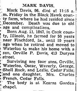Mark Charles Davis
