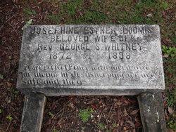 Josephine Esther <I>Loomis</I> Whitney