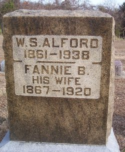 "Frances ""Fannie"" <I>Churchill</I> Alford"