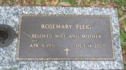 Rosemary Ann <I>Stevens</I> Fleig