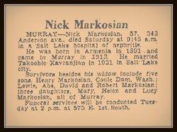 Nick Markosian