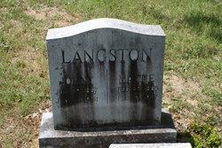 John Springfield Langston