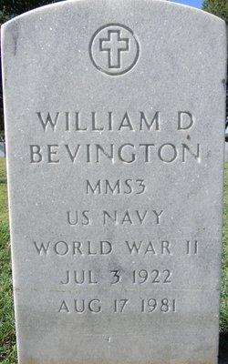 William D Bevington