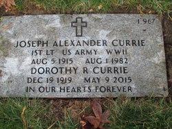 Joseph A Currie