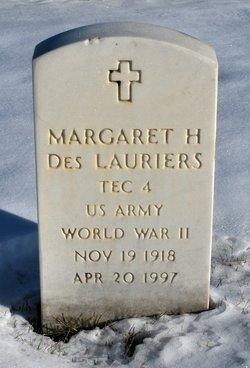 Margaret H <I>Pardee</I> Des Lauriers