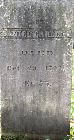 Capt Daniel Carlisle